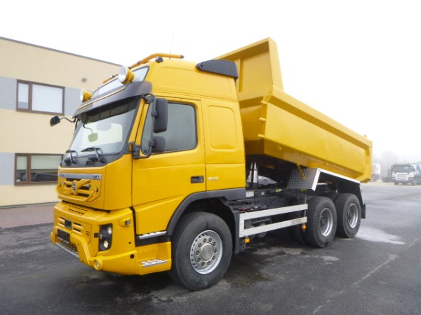 Volvo FMX500 6x4+EURO5+BOX HEATING