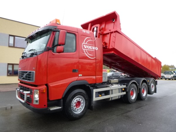 Volvo FH480 8x4+EURO5+BOX HEATING