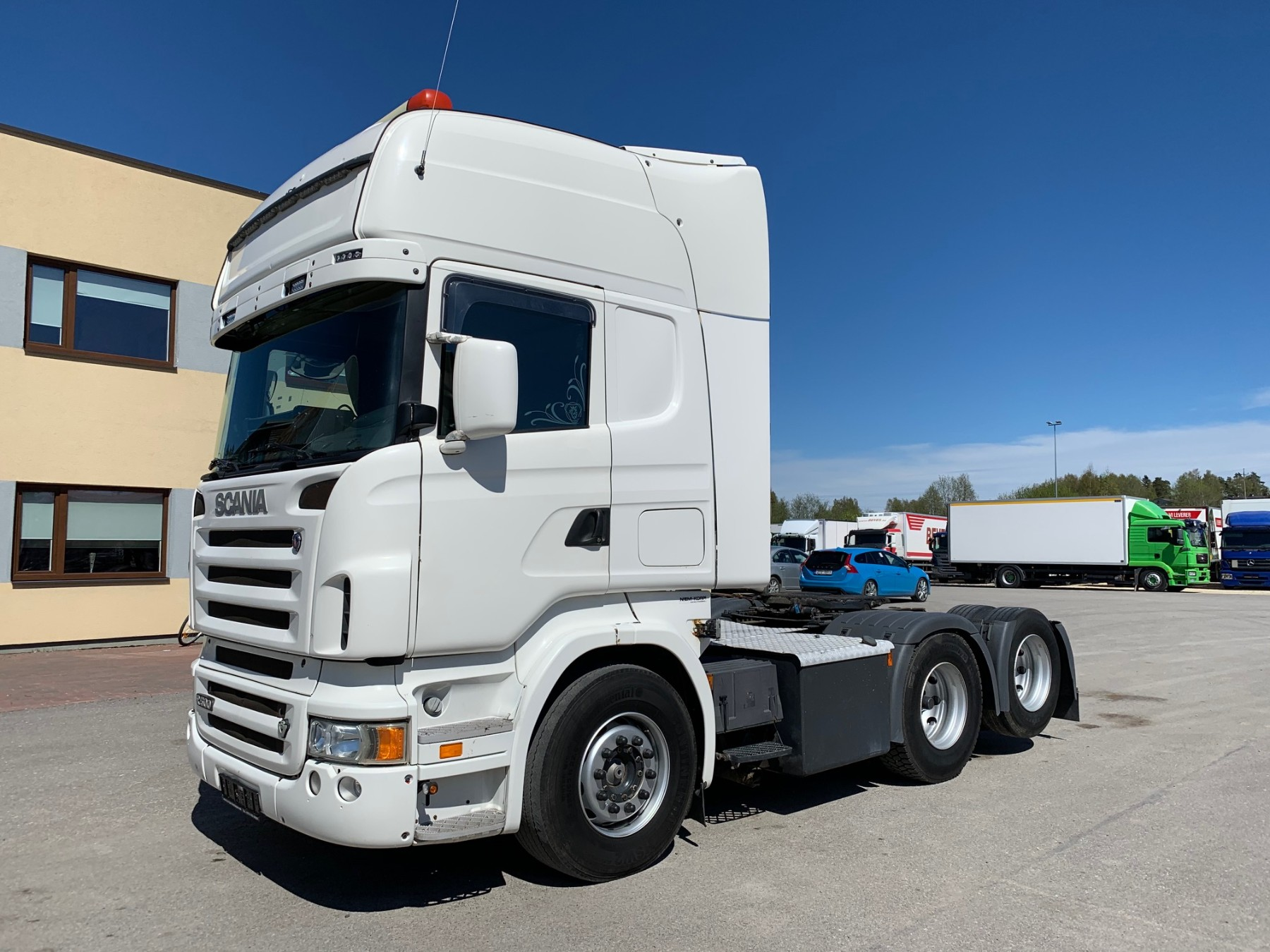 Scania R500 6x2+RETARDER+MANUAL