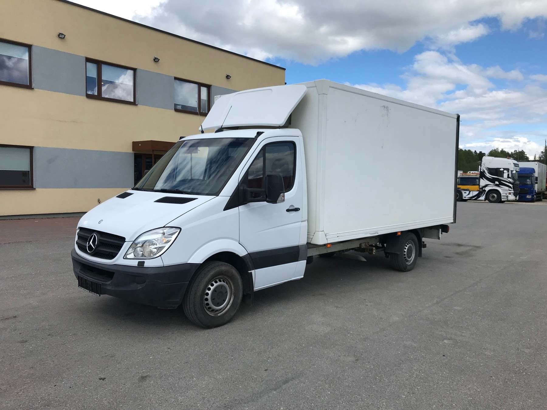 Mercedes-Benz Sprinter 316 CDI + Zepro Lift